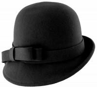 Hawkins Collection Wool Felt Vintage Cloche Hat