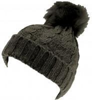 SSP Hats Ladies Cable Knit Bobble Hat
