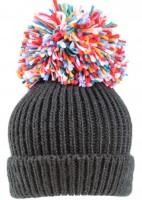 SSP Hats Oversized Multicoloured Bobble Hat