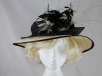 Black and Cream Events Hat