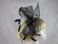 Black and Silver Sparkly Headpiece
