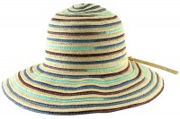 Hawkins Collection Multicoloured Straw Hat