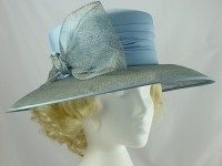 Blue Occasion Hat
