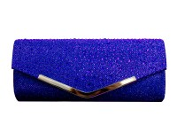 Papaya Fashion Glitter Evening Bag