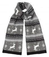 Boardman Reindeer Scarf