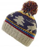 Boardman Xmas Themed Colourful Mens Beanie Bobble Hat