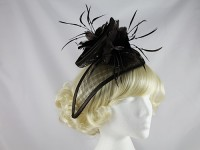 Brown Events Headpiece