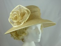 Buttermilk Wedding Hat