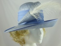 Cappelli Condici Blue Wedding / Events Hat