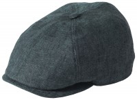 Failsworth Millinery Irish Linen Hudson Bakerboy Cap