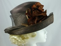 Country Casuals Brown Wedding Hat