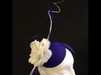 Couture by Beth Hirst Indigo Blue Flower Percher
