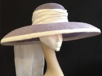 Couture by Beth Hirst Lilac Large Dior Brim