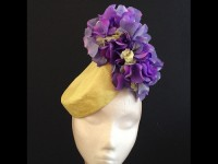 Couture by Beth Hirst Yellow Straw Percher