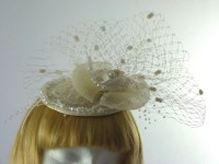 Anna Button Headpiece