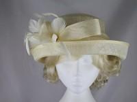 Hawkins Collection Upbrim Wedding Hat