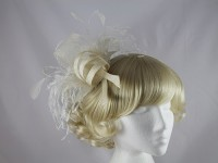 Cream Headpiece
