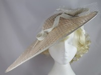 J Bees Millinery Asymmetrical Saucer