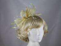 Nigel Rayment Sinamay and Feather Fascinator