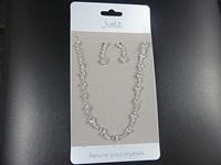 Little Clover Necklace & Earring Set