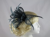 Dark Blue Headpiece