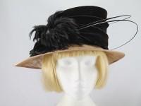 Dark Chocolate and Caramel Formal Hat