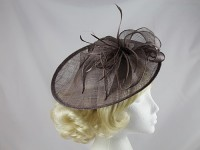 Dark Mauve Disc Headpiece