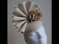 Esther Louise Millinery Vintage Shelly Felt Hat