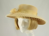 Eastex Lemon Wedding Hat