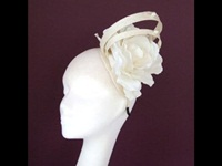 Edel Staunton Millinery Cream Rose