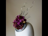 Elouise Collection Hydrangea Fascinator