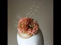 Elouise Collection Ranunculus Fascinator