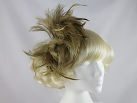 Failsworth Millinery Brown Feather Fascinator