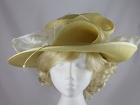 Failsworth Millinery Buttermilk Wedding / Events Hat