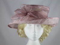 Failsworth Millinery Collapsible Hat in Fondant