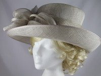 Failsworth Millinery Grey Events Hat