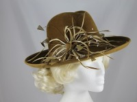 Failsworth Millinery Moss Winter Occasion Hat