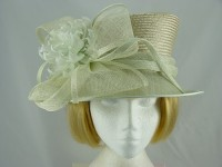 Failsworth Millinery Palest Green Wedding hat