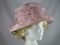 Failsworth Millinery Pink Collapsible Hat