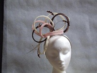 Dawn Liddle Millinery Creations Wedding headpieces Neopolitan