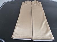 Wedding gloves Gold