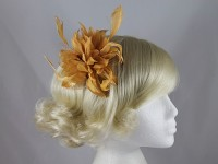Flower with Biots Comb Fascinator