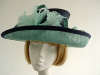 Jacques Vert Ascot hat flower and loops