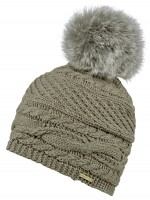 Alice Hannah Alexa Ribbed Knitted Beanie