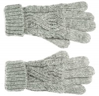 Boardman Darby Ladies Cable Knit Gloves