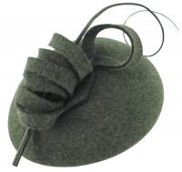 Failsworth Millinery Wool Felt Pillbox