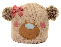 Hawkins Bear Ski Bobble Hat