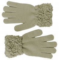 Hawkins Ladies Sequined Popcorn Yarn Gloves