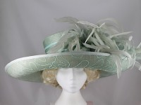 Gwyther-Snoxells Green Wide Brim Events Hat