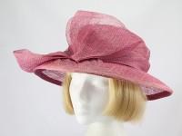 Hat Box Raspberry Formal Hat